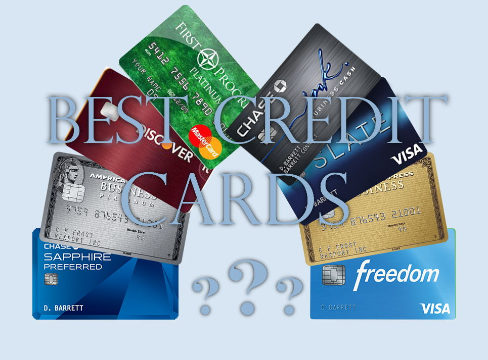 Best Credit Cards - Reviews of Advantages