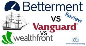 Betterment Vanguard Wealthfront Review
