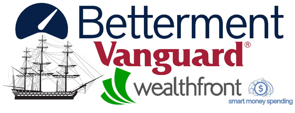 Betterment Vanguard Wealthfront review